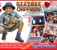 OZZYBEE IN CONCERT WITH ORPHANS … ALSO UNVEILS CHARLIE DANCE VIDEO