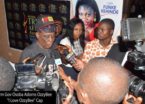 OZZYBEE WOWS FMR GOV OF OGUN STATE, H.E OTUNBA OLUSEGUN OSOBA
