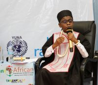 Kid star, OzzyBee bagged international award, stunned audience with an impeccable speech